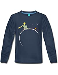 Spreadshirt The Little Prince Looks At Sunset Kids' Premium Longsleeve Shirt