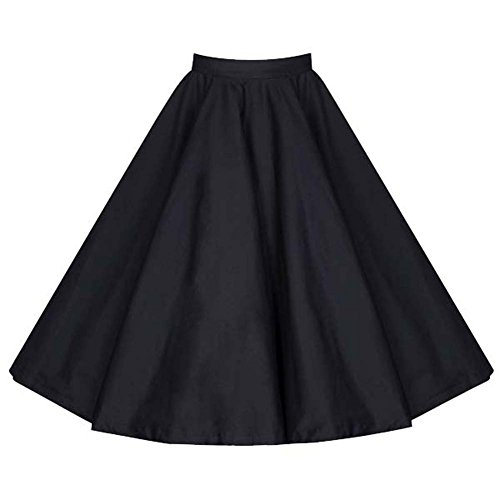 Dissa M120218D Robe de bal Vintage pin-up 50's Rockabilly robe de soirée cocktail,S-XXL Noir