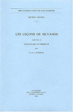 Les leçons de Silvanos : (NH VII, 4)