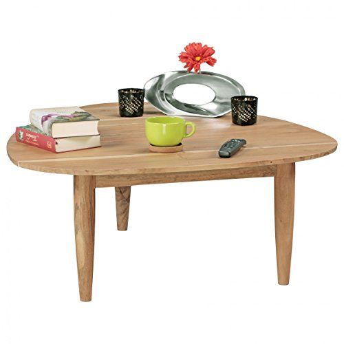Home Collection24 BOHA Table Basse en Bois d'acacia Massif 96 cm