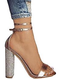 Dragon868 Donna Scarpe Tacco Alto 11.5Cm Eleganti Sandalo ... 93683cd2c53