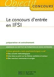 Le concours d'entrée en IFSI