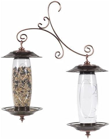 Abreuvoir et mangeoire à oiseaux pour le jardin 737 de Perky-Pet®