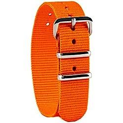 EasyRead Time Teacher Children's Watch Strap - Orange