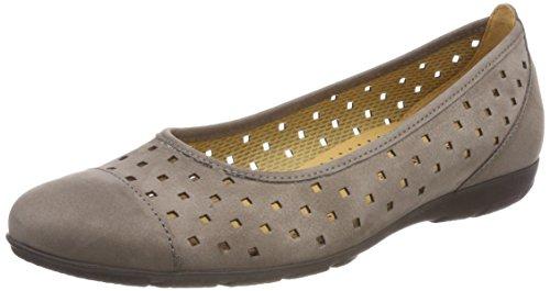 Gabor Shoes Damen Casual Geschlossene Ballerinas, Braun (Wallaby), 38.5 EU