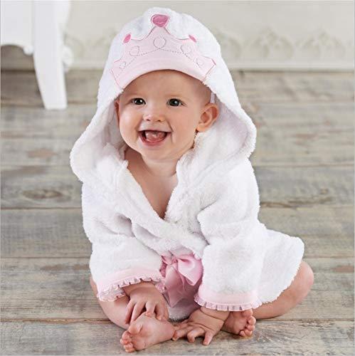 dfjd Bonita Forma Animal Bebé Toalla Baño Bebé Bata Algodón Albornoz De Los Niños M Yardas 2-3 Años De Edad Princesa