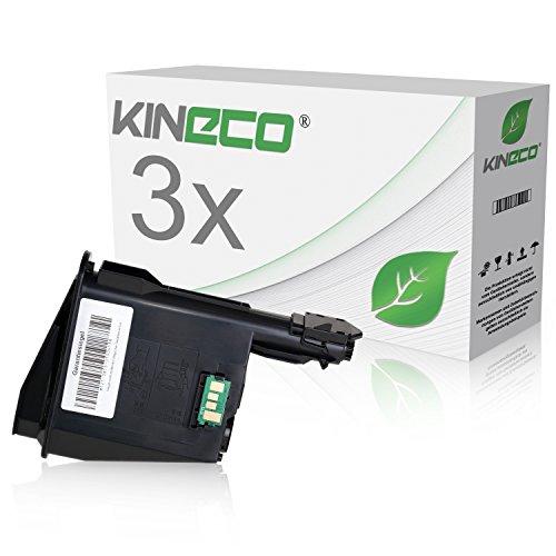 3 Toner kompatibel zu Kyocera TK1125 FS-1061DN 1325 MFP - 1T02M70NL0 - Schwarz je 2.100 Seiten Kyocera-3