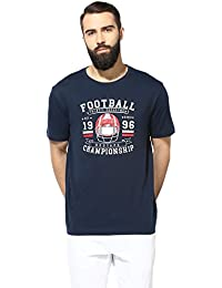 Red Tape Men's Printed Regular Fit T-Shirt