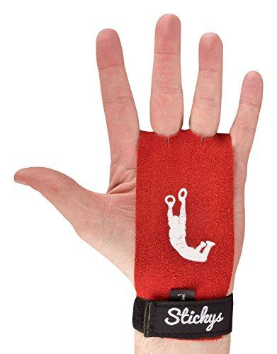 STICKYS - Protección de palmas y manos para Crossfit, Gimnasia, Levantamiento de Pesas, Lifting, Fitness, Fisiculturismo, Powerlifting | Alternativa de guantes para más protección, con más agarre y mejor rendimiento en los ejercicios, WOD o entrenamientos.