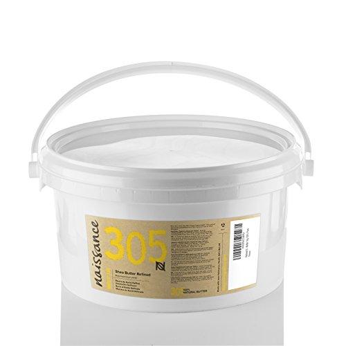 Naissance Burro di Karitè Raffinato, Puro al 100%, Vegano, Senza OGM - 1kg