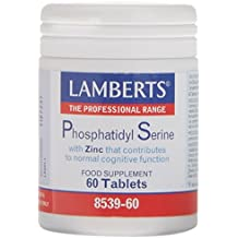 Lamberts Fosfatidil Serina 100 mg - 60 Tabletas