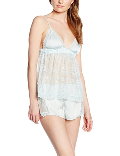 Women'secret Damen Schlafanzughose Hb Bride Pj Acqua Fr Türkis