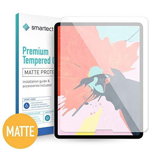 smartect Mattes Panzerglas für Apple iPad Pro 2018 (12.9) [MATT] - Bildschirmschutz mit 9H Härte - Blasenfreie Schutzfolie - Anti Fingerprint Panzerglasfolie