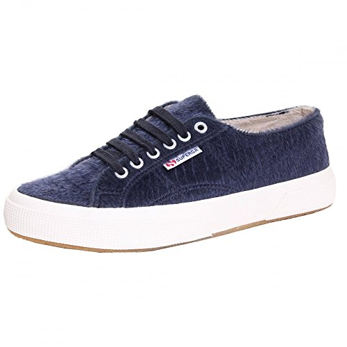 Superga 2750 Synthorsew, Sneakers Basses Mixte Adulte Blue Navy