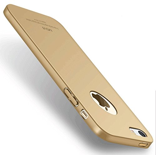 Yooky iphone 5S SE Case Fall Hülle , iphone 5S SE Cover Tasche , Kratzfestes dünne harte Schutzabdeckung Shell für iphone 5S SE Golden