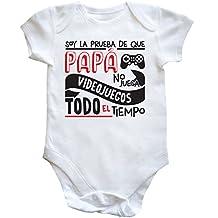 HippoWarehouse Soy La Prueba de Que Papá No Juega Videojuegos Todo El Tiempo body bodys pijama