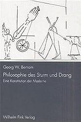Philosophie des Sturm und Drang