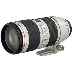 Canon - EF - Téléobjectif Zoom - 70 mm - 200 mm - f 2.8 L is II USM EF