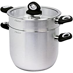 Backen 163024 Crystal Couscoussier Inox 24 cm 8 L