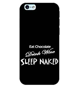 PrintDhaba QUOTE D-6917 Back Case Cover for APPLE IPHONE 6S PLUS (Multi-Coloured)