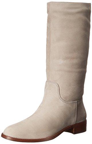 Via Spiga Jules Boot Damen Rund Leder Mode Mitte Calf Stiefel Taupe