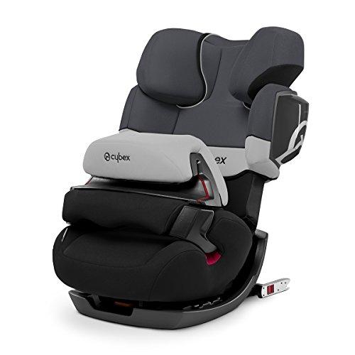 Cybex - Silla de coche grupo 1/2/3 Pallas 2-Fix, silla de coche 2 en 1 para niños, para coches con y sin ISOFIX, 9-36 kg, desde los 9 meses hasta los 12 años aprox.Gray Rabbit