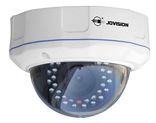 Full HD 1080P, 2 MP, Jovision cámara domo IP de vigilancia y seguridad, CCTV, interior y exterior, visión día y noche, detección de movimiento y alarma email, P2P, acceso desde Android, iPhone y Windows PC, diseño compacto, JVS-N5DL-HC (NO WIFI)