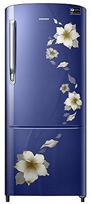 Samsung 192 L 3 Star Direct Cool Refrigerator (RR20M172ZU2/RR20M272ZU2 , Star Flower Blue)