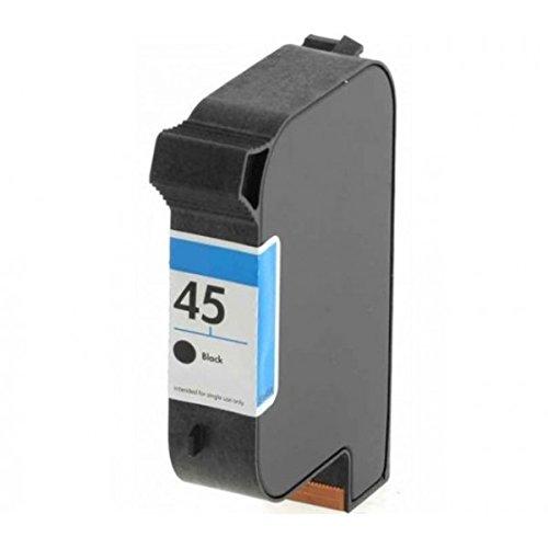 Cartucho HP 45color negro compatible para HP DeskJet 710C/720C/820C 51645A capacita '42ml