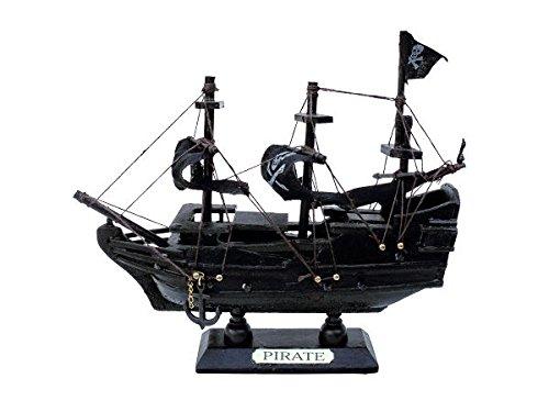 City Souvenir Shop Schiffs-Modell Piratenschiff, klein (Modell Piratenschiff)
