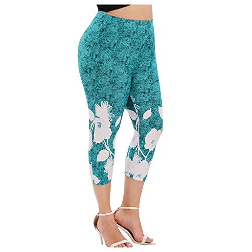 Zonary Sexy Leggings Damen Spitze Hosen Yoga Pants Frauen Mädchen Patchwork Sport Casual Hosen Belichtung Dicht, elastisch Bequem Yogahosen XL-5XL (80er-jahre-mädchen Wie Die Sie Kleiden Sich)