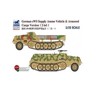 Unbekannt Bronco Models cb35214-Maqueta de German SWS Supply Ammo Vehicle y Armored Cargo Versión, 2en 1