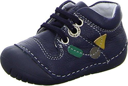 Primigi Mervi Kleinkinder Baby Lauflernschuhe Leder Schnürer Rutschfest, Größe 22 (Schuhe Primigi Kleinkinder)