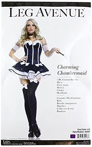 Leg Avenue - Costume de soubrette - 5