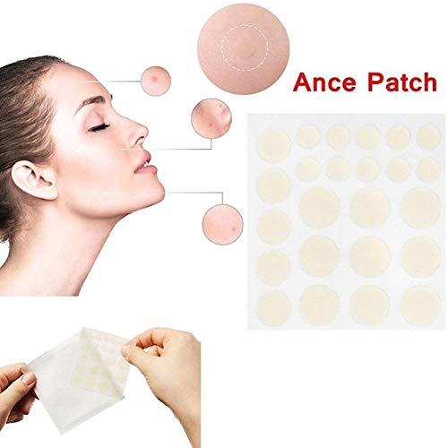 Snow Island Gesichtspflege Akne Pimple Master Patch - Gesicht Spot Narbenbehandlung Aufkleber 24 Patches Gesichtspflege Hämorrhoiden Akne Paste - Master Corrector