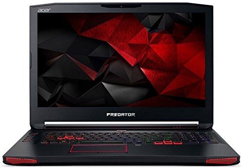 Acer Predator G9-793 17.3-inch Laptop (Core i7-7700HQ/16GB RAM/256 GB SSD/2TB HDD/Elinux/Win10/MSO/NVIDIA GeForce GTX 1060 6GB GDDR5 VRAM), Black