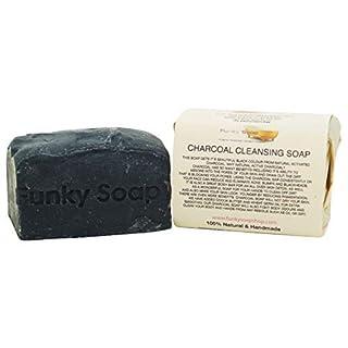 1 stück Bambus Holzkohle Reinigende Seife 100% Natürlich Handgemacht approx.120g