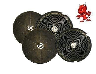 MEGA SPARSET 4 Aktivkohlefilter Kohlefilter Filter passend für Dunstabzugshaube HONEYWELL ONYX - Onyx-maschine