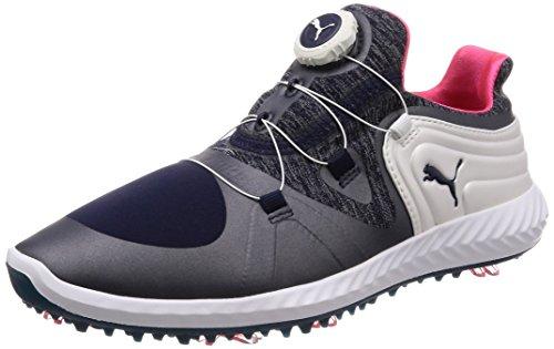 Puma Ignite Blaze Sport DISC Damen Golfschuhe Peacoat-White 6