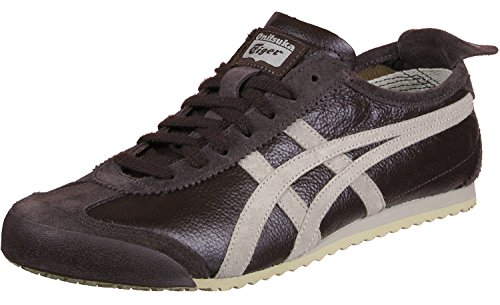 Tiger 66 Mexico Grey Vin Coffee Feather Marron Onitsuka dwq6ZE5nWd