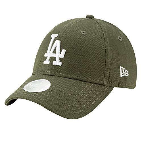 New Era Los Angeles Dodgers 9forty Adjustable Women Cap League Essential Olive/White - One-Size Das Womens Cap