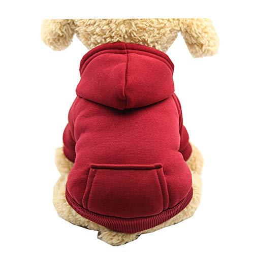 Kostüm Minion Für Hunde Den - Morbuy Hund Katzen Welpe Kostüm Kapuzenpullis, Haustiere Pullover Sweater Schneeflocke Halloween Haustier Kostüme Nettes Cosplay für Kleine Katzen Welpen