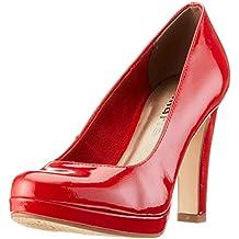 neues Top-Mode heiße neue Produkte Suchergebnis auf Amazon.de für: tamaris rote pumps - Synthetik