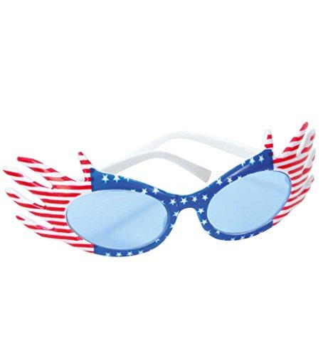 Brille USA, Motivbrille, Karneval, Mottoparty, Festival, Accessoire