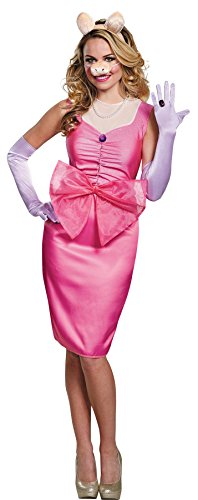 The Muppets Miss Piggy Deluxe Costume Adult Large - Muppets Miss Piggy Kostüm