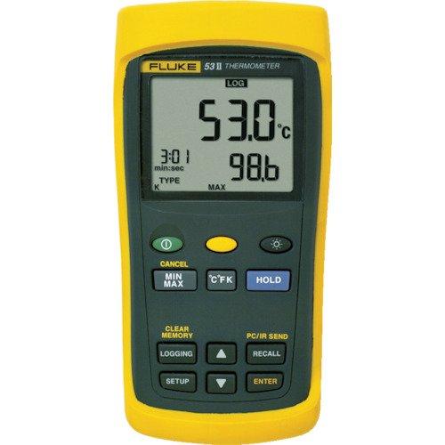 Fluke 53-2 50 B HZ Temperatur-Messgerät -250 bis +1767°C Fühler-Typ E, J, K, N, R, S, T Digital Shopping Network