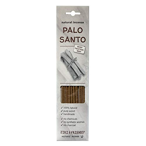 Räucherstäbchen Palo Santo Heiliges Holz Räucherholz Jiri and Friends 100% Natürlich 15 Stuck natural incense Palo Santo Fair Trade Räucherwerk -