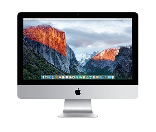 Apple iMac 21.5 4th Gen Quad Core i5-4570R 2.7GHz 8GB 1TB WiFi Bluetooth Camera macOS High Sierra (Refurbished) Img 1 Zoom