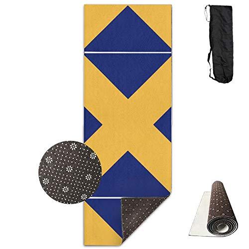 National Guard Yogamatte, zum 1. Weltkrieg, mit Anti-Rutsch-Gymnastikmatte National Guard Hat