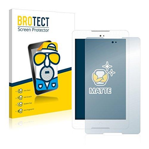 2X BROTECT Matt Bildschirmschutz Schutzfolie für BQ Aquaris M8 (matt - entspiegelt, Kratzfest, schmutzabweisend)
